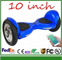 Wholesale Super Power Self Balancing Scooter Phone App control bluetooth music player Scooter Electric Two Wheels Hoverboard FEDEX Dropshipping