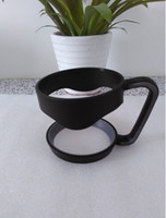 Wholesale New Black Handle for Oz YETI Cup Holder Tumbler Black Rambler Fit Travel Drinkware Cups