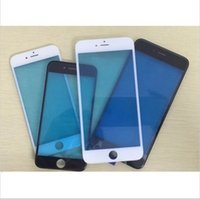 Wholesale Grand A Top Quality Front Touch Screen Glass Outer Lens with Frame Bezel for iPhone Plus inch LCD