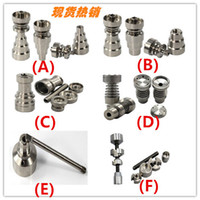 Wholesale Universal Titanium Nail mm in1 in1 mm mm mm Joint IN for Glass Pipe Smoking Free to over the world