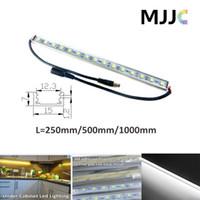 SMD 5050 aluminium tapes - 25CM CM CM V DC Cool White Waterproof Under Cabinet Rigid Strip LED Bar Light with M Adhesive Tape Aluminium Profile