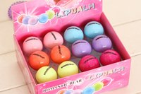 Wholesale HOT ePacket Round Ball D Lipstick Makeup Moisturizing lip balm Natural Plant Sphere lip Pomade lip balm Fruit Embellish lip Care colors