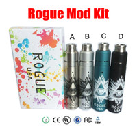 Cheap Vaporizer Rogue USA Kit With 5 colors Rogue full Mechanical Mod & Rebuildable Dripping Atomizer 18650 Battery Vapor mods e cigarettes Kits