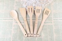 bamboo cooking utensils set - Bamboo Utensils Bamboo Wooden Kitchen Tools Utensils Cooking Set Spatula Spoon Turner Bamboo Crafts Bamboo And Wood Cooking Utensils