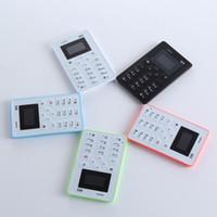 Cheap Original AEKU M5 Card Cell Phone Ultra Thin Pocket Mini Phone Low Radiation AIEK M5 Card mobile Phone
