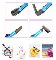 Wholesale Mini Portable Aluminum Alloy Bike Bicycle Mountain Bike MTB Cycling Tire Pump High Pressure Air Pump Bicycle Accessories