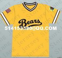 amanda news - Sammi Kane Kraft Amanda Whurlitzer Bad News Bears Jackie Earle Haley Kelly Leak Baseball Jersey Mens embroidered jersey