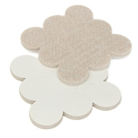 Wholesale Best Price Top Quality Self Adhesive Floor Furniture Wall Chair Scratch Protector Felt Round Pads