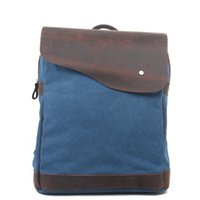 Wholesale Fashion Vintage Canvas backpack Mountaineering Men s backpacks School Packpacks Travel Bags