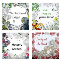 art coloring sheets - 4 Pages Mixed Styles Painting Books for Kids Adult Painting Drawing Secret Garden Kill Time Coloring Book Relieve Stress Baby Gifts