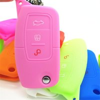 Wholesale Case Key Bag Key Cover For Ford Focus Silicone Key Portect Case Car Accessories Key Factory Price