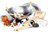 Wholesale Wok Piece Set Use For Stir Frying Steaming Deep frying