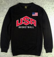 basketball jackets sale - Hot Sales USA Basketball Team Men s Casual Autumn Winter Cotton Sweatshirts Man Sports Red Gray Jacket Pullover Men Sportswear M XXL