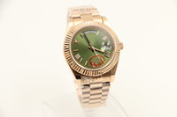 daydate - Luxury Brand new watch men day date daydate sapphire glass green dial k golden watch Automatic Watch Mens Watches
