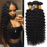bella dream hair brazilian curly - Natural color g Curly Brazilian Hair Weave Deep Wave Unprocessed Human Hair Extensions g pc Bella Dream Hair Products