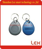 access numbers - High quality Access Control TK4100 khz ISO11785 ABS RFID numbered plastic ID key chains tags
