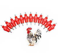 Wholesale Nipple Drinker Feeder Water Cups Chicken Drinkers Waterer Angle Poultry Supplies Feeding Watering