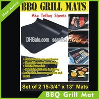 Wholesale from USA Warehouse BBQ grill mat high quality hot selling item mats per pack cooking mat