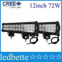Wholesale 12inch Cree W LED Light Bar Offroad Light V V LED Work Light For ATV SUV WD X4 Boating Hunting combo beam