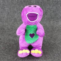 barney plush toys - Barney Child s Best Friend barney sings quot I Love You quot song Plush Soft Stuffed Doll Toy for kids gift EMS