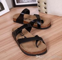 arizona beaches - Black Birkenstock Shoes Classic Birkenstock Arizona Men Beach Sandals Women Summer Beach Sandals Flip Flops