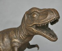 ancient bronze statue - Art Deco Sculpture Tyrannosaurus Rex Dinosaur Ancient Creatures Bronze Statue