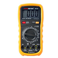 ac current measurement - PEAKMETER Counts MY60 Digital Multimeter AC DC Voltage Current Resisitance Measurement with Diode Transistor Continuity Test