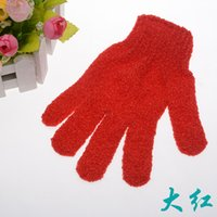 Wholesale Foreign trade five bath gloves Home Furnishing bath towel Cuozao gloves manufacturers spot on