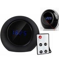 Wholesale MATECam Remote Contr HD P Digital Alarm Clock Spy Camera Motion Detection DVR Camcorder Black Hidde table Clock DVR SPY motion Alarm