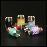 Wholesale Hot Drip Tips Wide Bore Drip Tips Acrylic Wide Bore Drip Tip for RTA RDA RBA DCT Mods Vaporizer Free