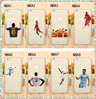 action iphone - Basketball Player Dunk Action Curry Westbrook Cases MVP Painting Matte Clear Hard Plastic Back Case Cover For iPhone quot Plus quot S
