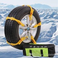 Wholesale 10pcs General Anti skid chains car slip resistant chain wd sedan snow tyre cow muscle thickening Jack Tyre antiskid chain