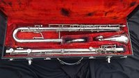 Wholesale LeBlanc Straight Metal BBb Contra Bass Clarinet