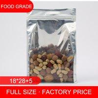 aluminum siding pricing - factory price eight side sealed zip lock aluminum foil transparent bag nut packing bag peanut bag