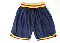Wholesale Cleveland Basketball Shorts New Material Rev Sport Shorts Best quality Authentic Shorts S XXL Accept Mix Order