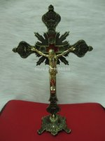 altar crucifix - 13 quot Standing Crucifix Jesus Christ on Cross Church Religious Altar Crucifixes