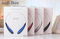 Wholesale Wireless Bluetooth headsets hbs800 headphones Stereo Headset Earphone Handsfree in ear headphones HB800 HBS900 HBS760 HBS902 Headset J EJ