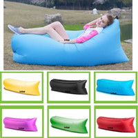 Wholesale Inflatable Hangout Air Sleeping Bag Outdoor Fast Inflatable Sleep Bag Sleeping Bag Lazy Hangout DHL