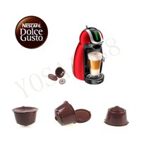 Wholesale use times Refillable Dolce Gusto coffee Capsule nescafe dolce gusto reusable capsule dolce gusto capsules