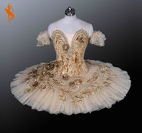 Wholesale Gold Professional Ballet Tutu BT805 Professional Ballet Tutus Adult Tutu Ballet Tutus Girl Dress Tutu Ballet Professional
