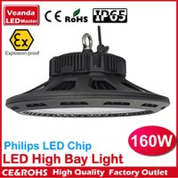 Wholesale Outdoor Explosion proof canopy led lights W high bay light for GAS Station lights warehouse lamp years warranty AC85 V