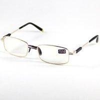 Wholesale Reading Glasses Eyeglasses Frame Fullrim Eyewear Fashion Golden Presbyopia Hyperopia Long Distance Vision