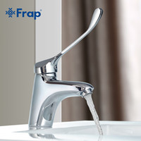 bathroom hygiene - Brass Long Handle Bathroom Basin Faucet Mixer Tap Deck Mounted Sink Medical Hygiene Faucet F1054