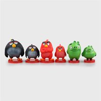 Wholesale Donnatoyfirm PVC cm Angry Birds Film Animation Figure A Set Action Figure