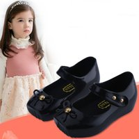 baby ballet shoe - Ballet mini melissa shoes kids Melissa Ballet Sandals Original melissa infantil baby shoes Toddler frozenly schoenen
