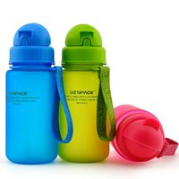baby bottle shaker - 400ML BPA free Tritan Baby Straw Water Bottles Children Health Colorful Cups Nutrition Custom Kids Shaker Cover Bottles