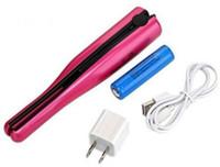 Wholesale Hottest USB Power Hair Straightener Cordless Hair Straightener Mini Rechargeable Straightener Travel Flat Iron Small Pocket Hair Curler