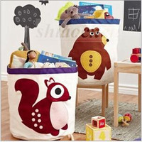 baby clothes laundry - Baby Room Nursery Toys Storage Bag Bedroom Laundry Tidy Toy Organizer Wash Dirty Clothes Storage Basket Box Stuffed Doll Basket Bin A811