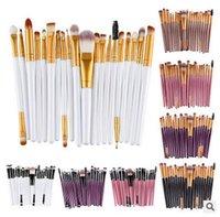 Wholesale 20pcs set Cheapest Cosmetic Brush Set Multipurpose Makeup Brush Powder Eyeshadow Blush