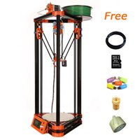 Wholesale Extruder Reprap Prusa I3 D Printing High Resolution Impressora D cheap d printer with m filament GB SD card for Free